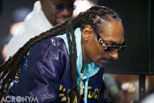 DJ SNOOPADELIC AT SNOOP DOGG MEET +CHIEF AT GREEN BUDDHA (PHOTO: AMY NICOLE / ACRONYM)