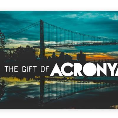 ACRONYM GIFT CARD
