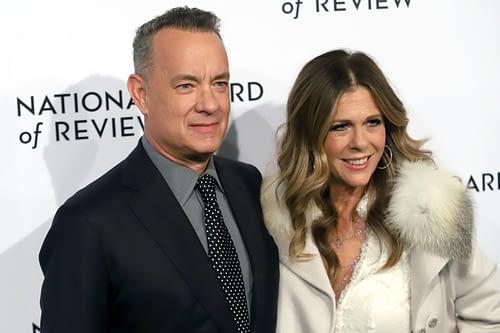 Tom Hanks & Rita Wilson (JStone / Shutterstock)