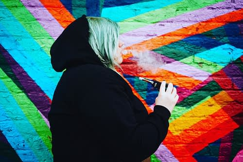 CREATE ACRONYM SMOKING. PHOTO JESSICA GOLICH