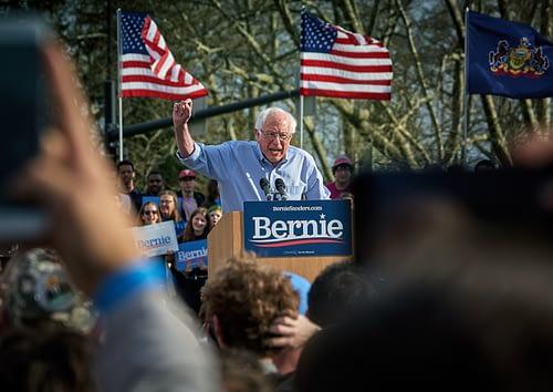 Senator Bernie Sanders Speaks. Photo by Vidar Nordli-Mathisen on Unsplash