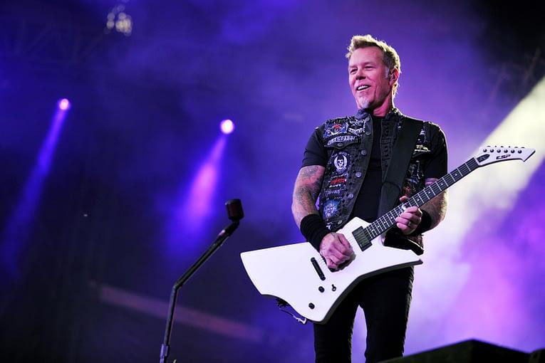 James Hetfield of Metallica (yakub88 / Shutterstock)